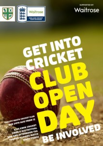 Picture of open day poster