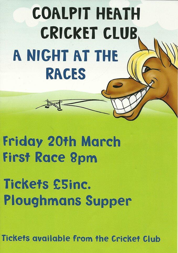 Race Night Poster